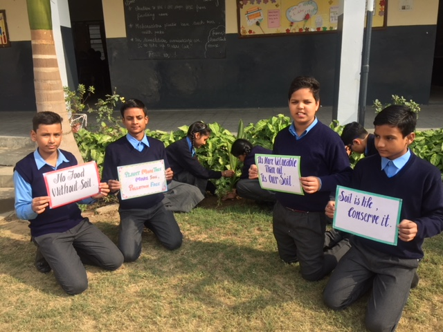 ​BVMites observe 'World Soil Day'
