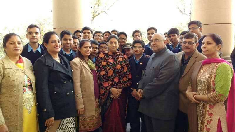 BVM students visited the Parliament House