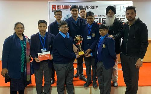 BVM Scientists emerged winners at Scientific Conclave