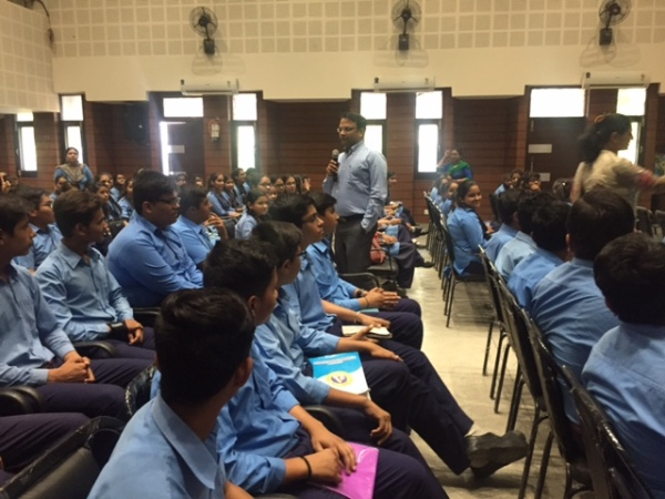 ​Awareness Session for Medical Students at BVM (USN)